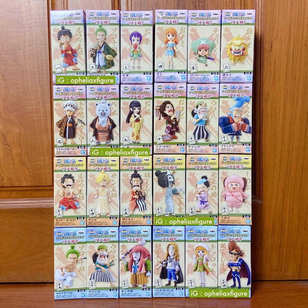 WCF One Piece Wano Kuni ของแท้ แมวทอง 🇯🇵 วันพีช วาโนะ คุนิ ฟิกเกอร์ โมเดล วันพีซ OnePiece ลูฟี่ โซโล ซันจิ แฟรงกี้