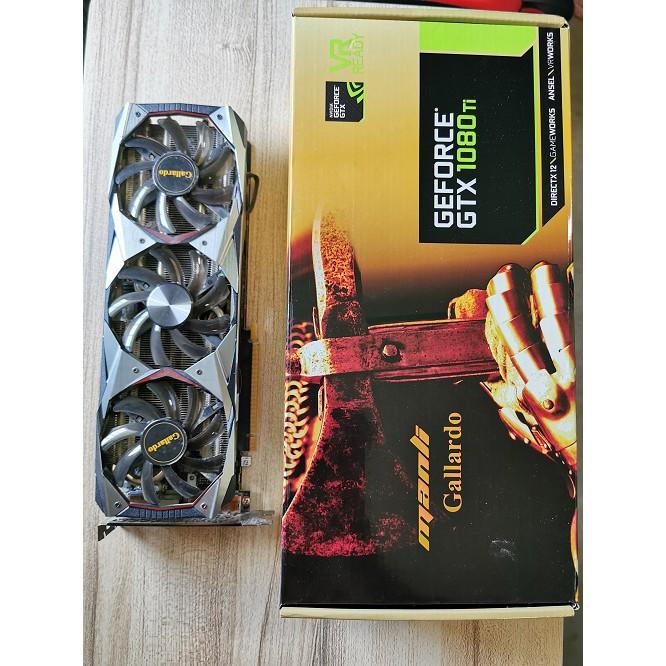 การ์ดจอ VGA Nvidia GTX1080Ti 11GB Gallardo GDDR5X