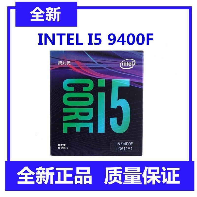 applewatch series 6♀◎❐Intel/Intel New Core I5 9400F ชนิดบรรจุกล่อง CPU เดสก์ท็อปคอมพิวเตอร์เมนบอร์ดโปรเซสเซอร์ Scatt