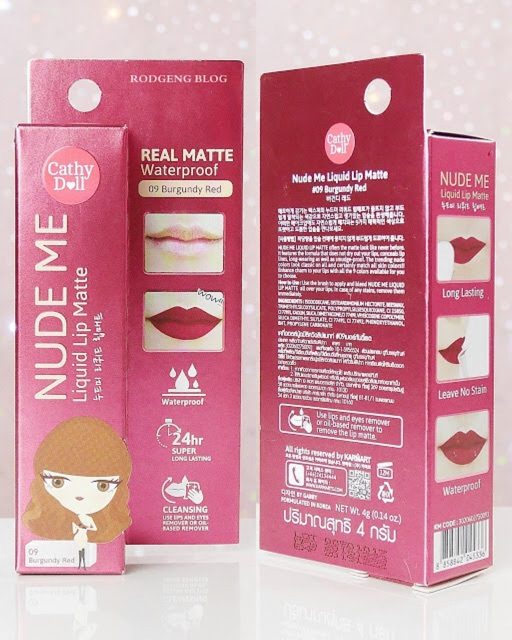 Image # 8 of Review Cathy Doll Nude Me Liquid Lip Matte ขนาด 4g.