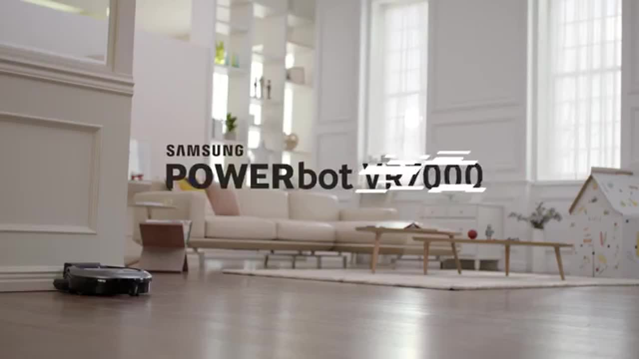 SAMSUNG VACUUM POWER BOT# VR10M7030WG/ST หุ่นยนต์ดู