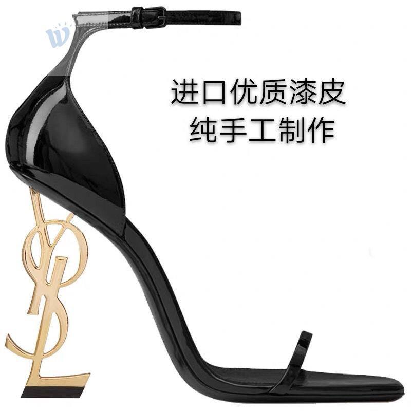ที่ขัดส้นเท้ารองเท้าหัวแหลม รองเท้าไซส์ใหญ่ 41 45 ร้องเท้าแตะผู้หญิง ส้นสูงไซส์ใหญ่ รองเท้าทรงเตารีด รองเท้าคัชชูสีดําส้