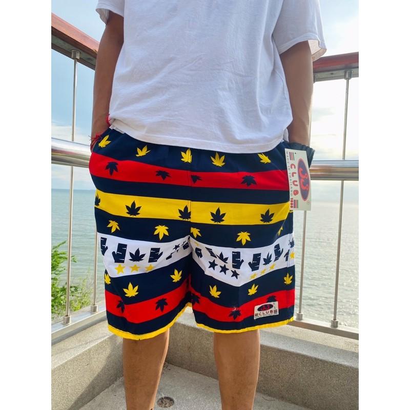 กางเกงเจเจ ไซส์ L ยาวถึงเข่า 21 นิ้ว *(พอดีเข่า) กางเกงขาสั้น กางเกงเอวยางยืด