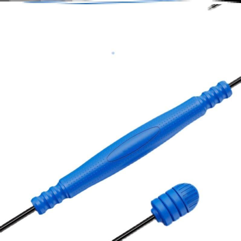 อุปกรณ์ฟิตเนสและออกกําลังกาย✽✻Feilishi elastic fitness bar กล้ามเนื้อ ผ่อนคลาย แขน ความแข็งแรง การฝึก แถบยางยืด high-end