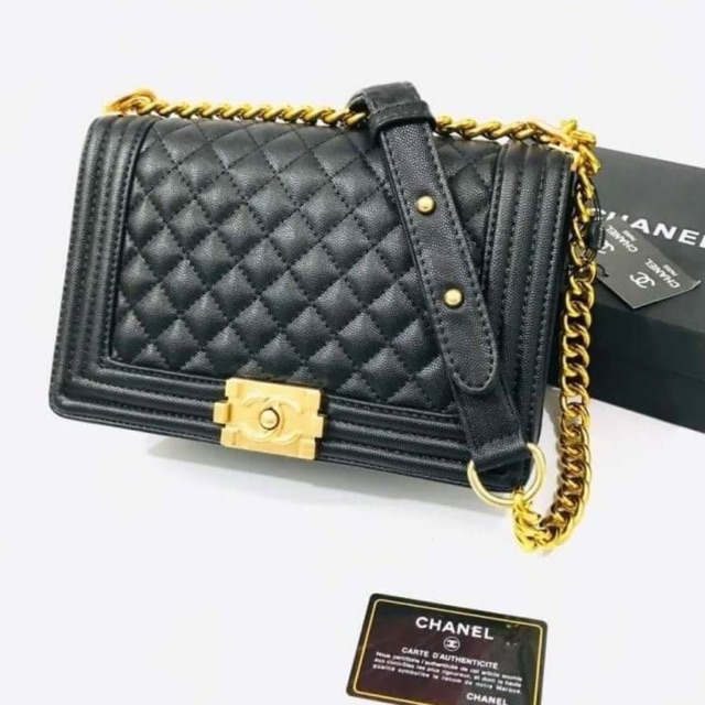 """🔥🔥กระเป๋าสะพาย New Chanel boy 10""""🔥🔥"""