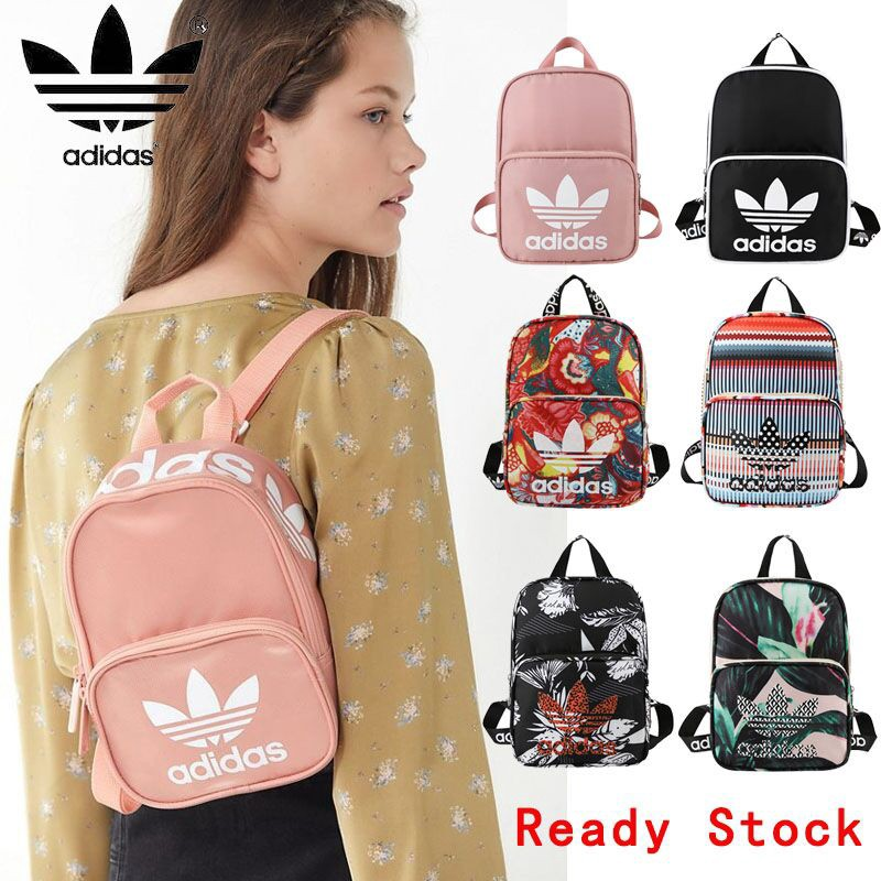 ADIDAS กระเป๋าเป้สะพายหลังกระเป๋า / กระเป๋าเป้สะพายหลังโรงเรียน / กระเป๋าสะพาย / กระเป๋าเดินทางกระเป๋าเป้สะพายหลังขนาดเล