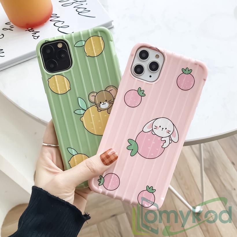 Casing Xiaomi Redmi Note7 RedmiK20 MiA3 CC9E Mi9T Mi 9 Pro Mi8Pro Mi8Lite Travel Suitcase Style Cute Soft Case