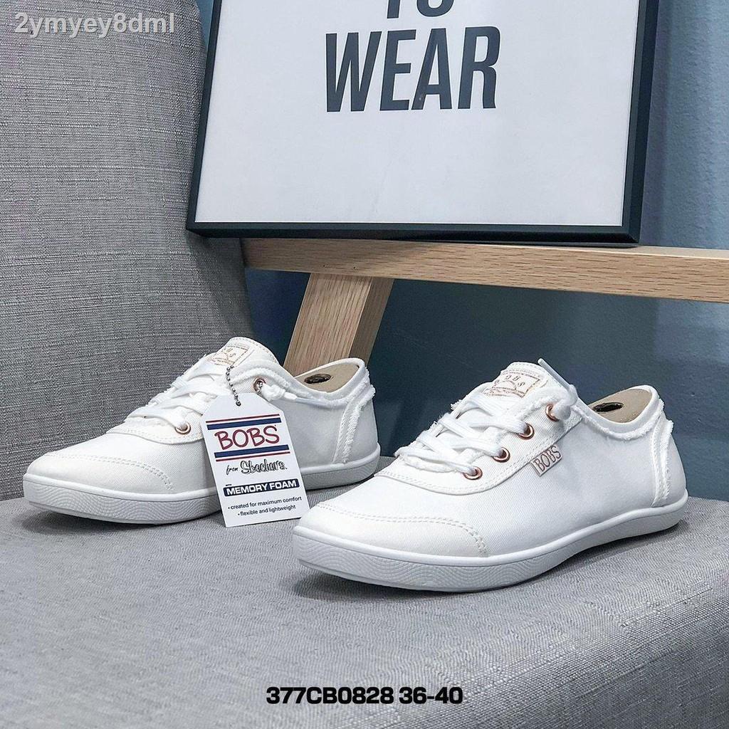 🔥แฟชั่น●﹍รองเท้าคัทชูผญ SKECHERS BOBS Memory Foam รองเท้า หญิง รองเท้าผู้หญิง skercher ร้องเท้าผูหญิงรองเท้าผู้หญิงร