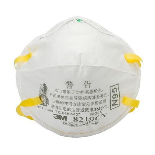 ❂✈□พร้อมส่ง หน้ากากอนามัย 3M รุ่น 8210CN N95 ป้องกันฝุ่น PM2.5