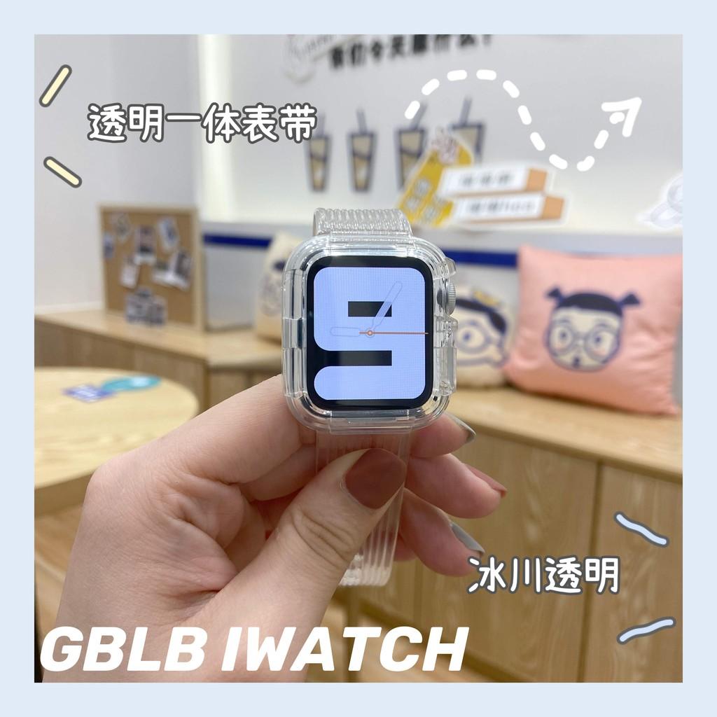 สายนาฬิกาข้อมือแบบใสสําหรับ Apple Watch 6 Applewatch
