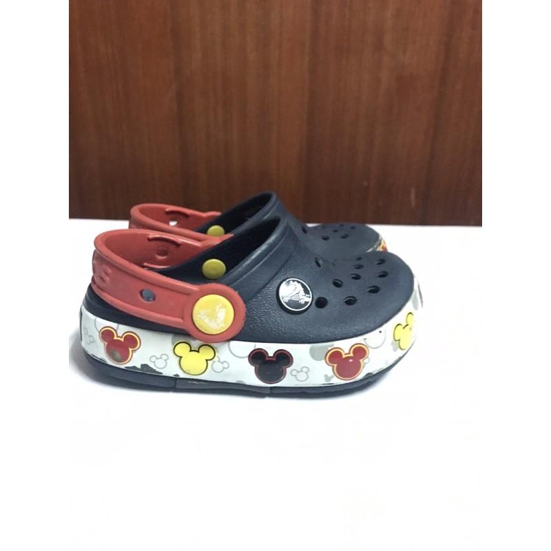 รองเท้าเด็กมือสอง Crocs 14 cm