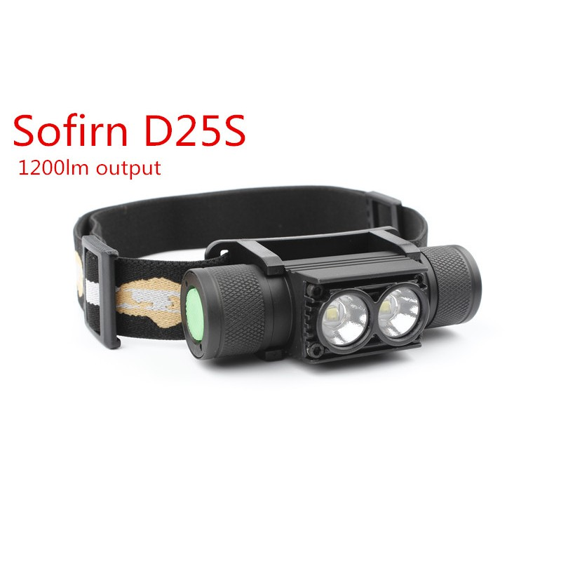 Outdoor Clip On LED Head Lamp Cap Light Dual Sensor Torch for Camping Fishing