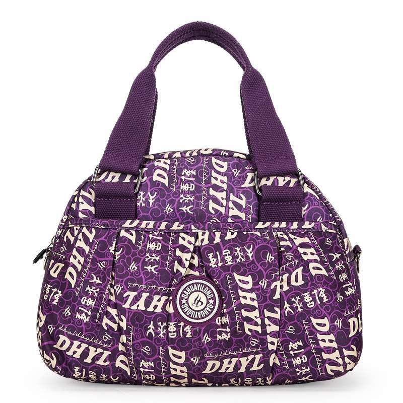 กระเป๋าผ้าผู้หญิง, กระเป๋าสะพายข้าง, กระเป๋าสะพายข้างผู้หญิงใบเล็กสำหรับเดินทางไหล่แบบใหม่, ผ้าใบไนล่อนลำลอง