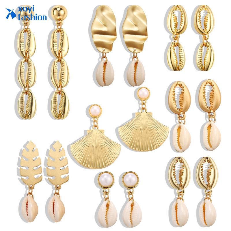 Women Vintage Silver Hook Earrings Flower Pearl Dangle Drop Earring Jewelry Gift