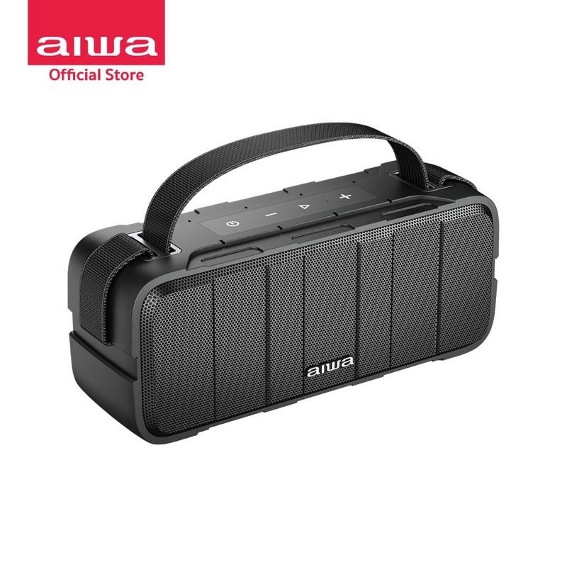 ลำโพงAIWA Katana Y Bluetooth Speaker  เสียงดี  งานบริษัท รับประกัน 1ปี  ลำโพงบลูทูธพกพา กันน้ำระดับ IPX5 ลำโพงแบรนด์เนม