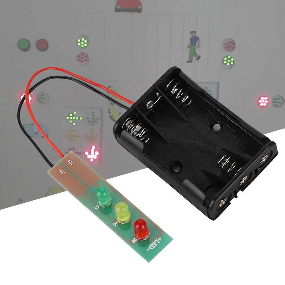 Excellent Kit Diy Module With Signal Board Light Traffic Mini Traffic Battery Wiring 101 Olytiaxxcnl