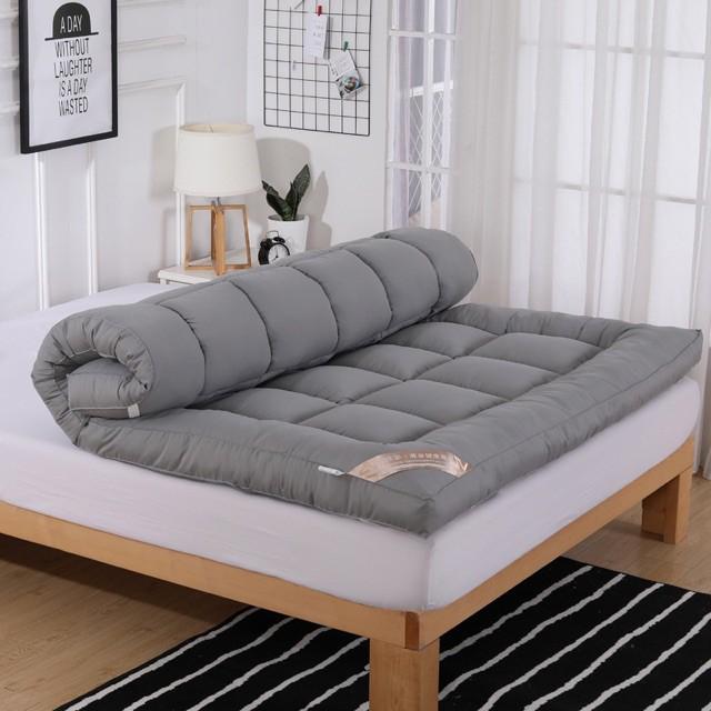 ที่นอน topper topper 5 ฟุต Topper ท็อปเปอร์เบาะรองนอนเพื่อสุขภาพ วัสดุขนห่านเทียม ขนาด 3.5/5/6 ฟุต  ✨✨
