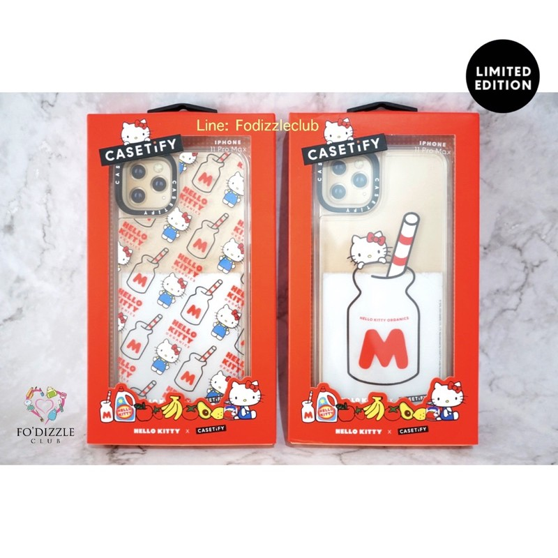"Hello Kitty x CASETiFY ""The Organic Milk"" Case (For iPhone 11 Pro Max) Limited Edition."