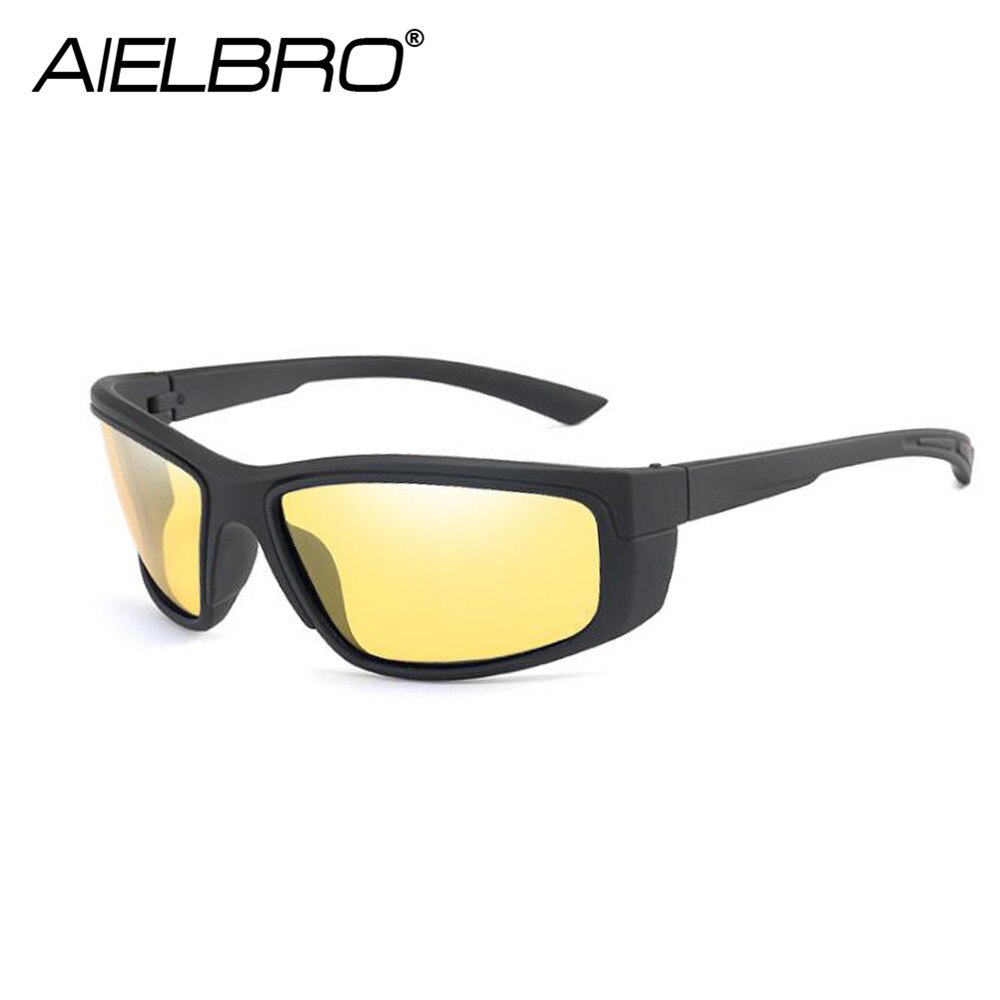 Men's Glasses Photochromic Cycling Glasses Night Vision Cycling Sunglasses For Bicycle Cycling Goggle Polarizing Glasses
