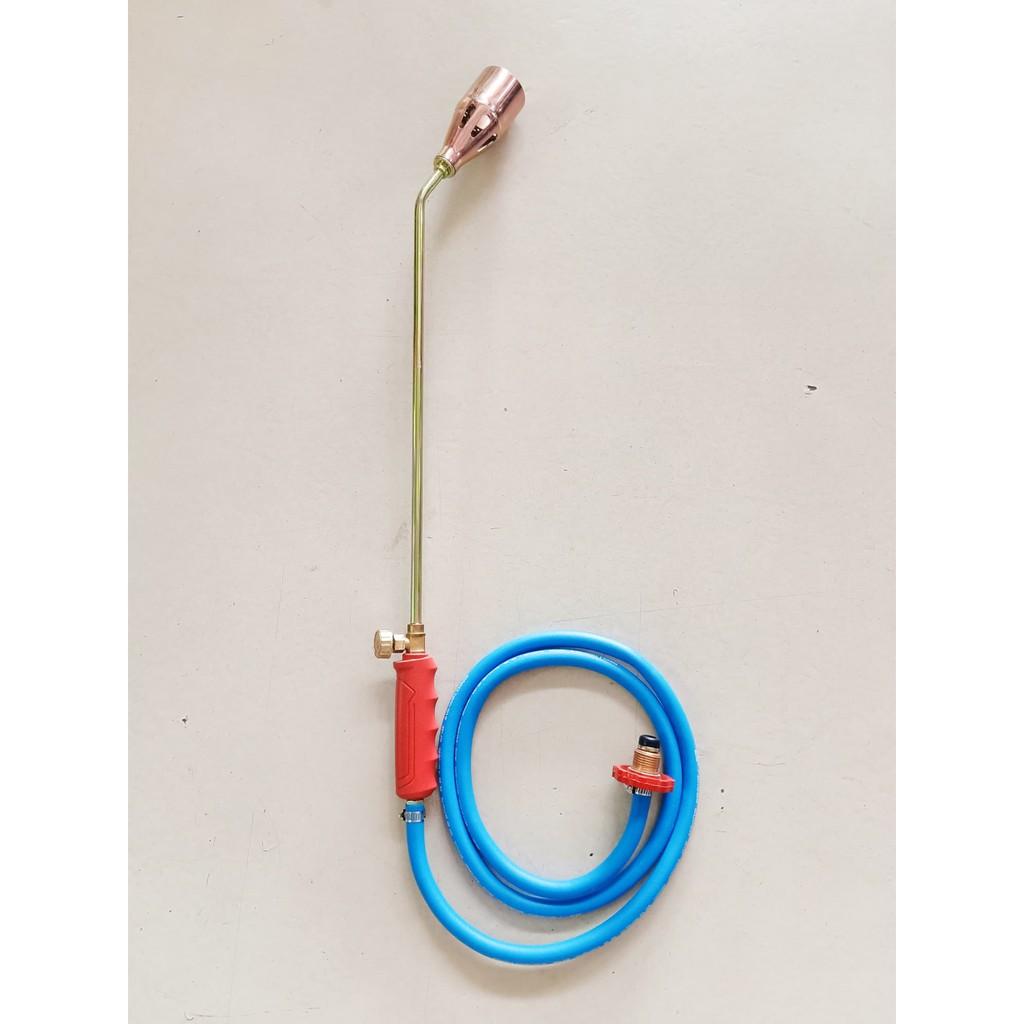 หัวพ่นไฟต่อถังแก๊สได้ทุกยี่ห้อ ที่เผาขาหมู 2นิ้ว แก๊สLPG