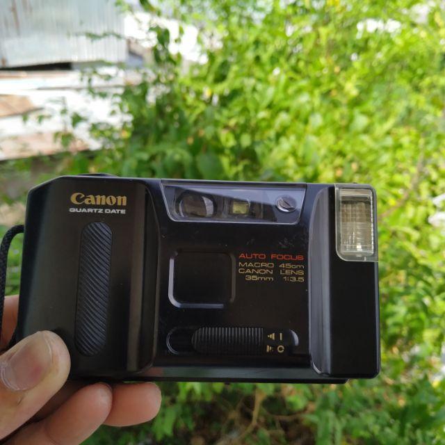 กล้องฟิล์ม canon autoboy lite  ทำงานเต็มระบบ   #ขายแล้ว