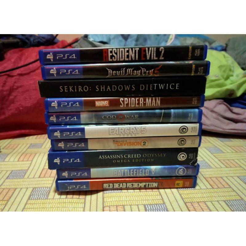 แผ่นเกมส์ PS4 แท้ (มือสอง)