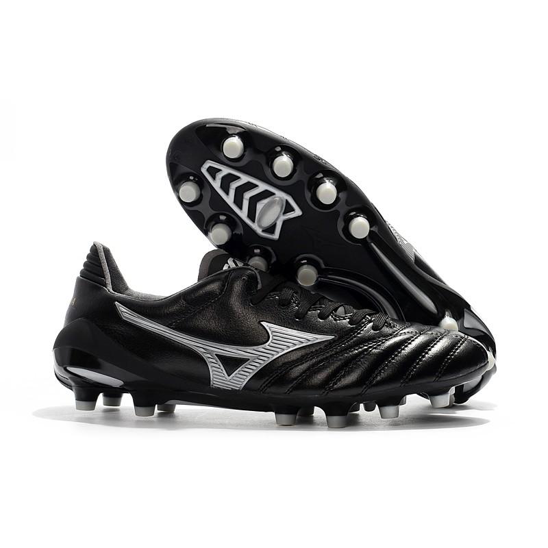 รองเท้าฟุตบอล MIZUNO Mizuno MORELIANEO2FG Nissan FG สีดำรองเท้าฟุตบอล Mizuno Morelia Neo II  มีกล่องป้ายครบ