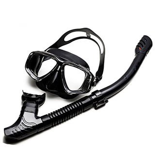 rofessional Scuba Diving Mask Sets Silicone Mask Snorkel Antifog Diving Mask Snorkel Tube Underwater ool Swim Equiment