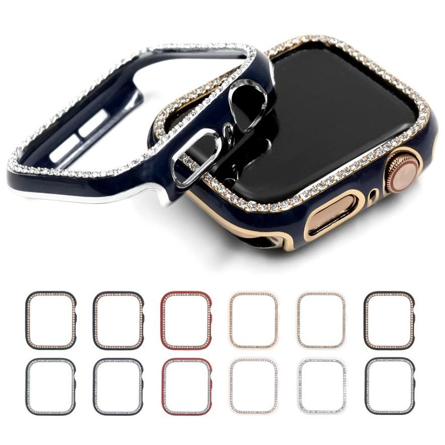 เคส Apple Watch มิลลิเมตรสําหรับ เคสนาฬิกาข้อมือสไตล์หรูหรา เคส applewatch iwatch series 6/5/4/3/2/1, Apple Watch SE ชิ้น Applewatch Case