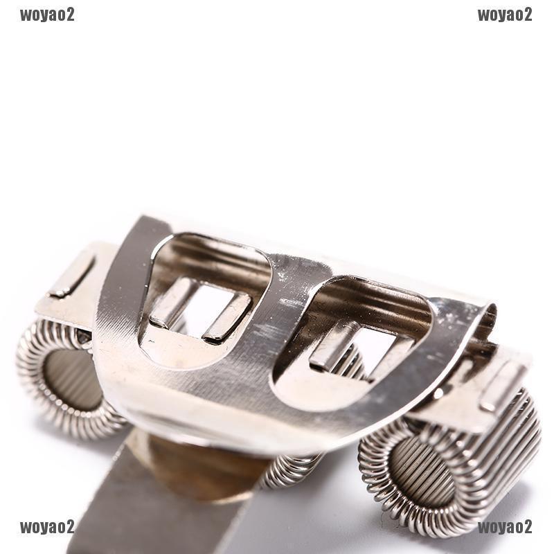 Triple Hole Metal Pen Holder With Pocket Clip Nurse Uniform WHITE Doctors