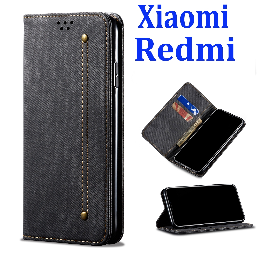 Xiaomi Mi 10T/10T Pro Note 10 Lite POCO X3 NFC F2 Redmi Note 9s 9 Pro 8 Pro MI 9T/9T Pro เคสฝาพับ เคสหนัง เคสโทรศัพท์