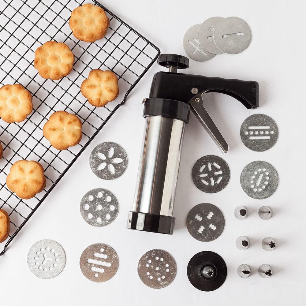 กระบอกกดคุกกี้ Cookie Press เครื่องทำบิตกิต เครื่องทำขนม