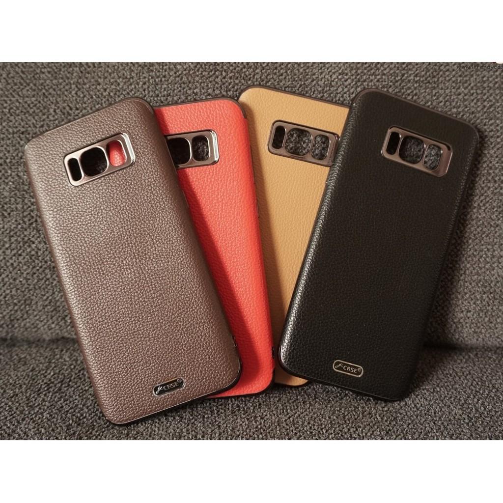 QQ Samsung S8 - เคส TPU ลายหนัง J-CASE แท้