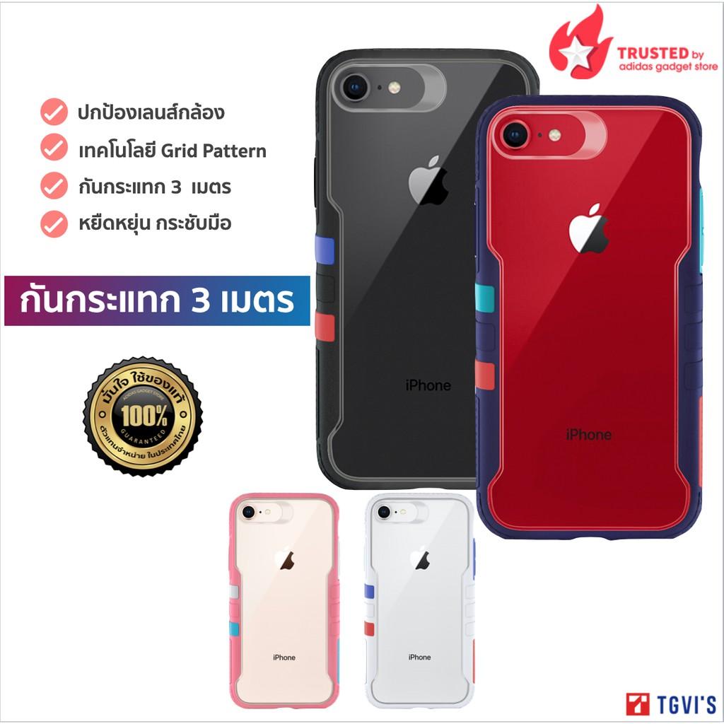 [ของแท้💯] TGVI'S Vibrant Case for iPhone SE2020/7/8/6 Series เคสกันกรแทก 3 เมตร
