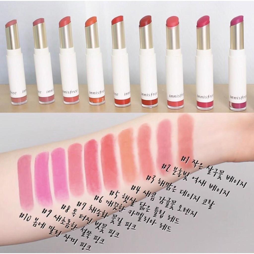 Innisfree Fit Lipstick Velvet Real