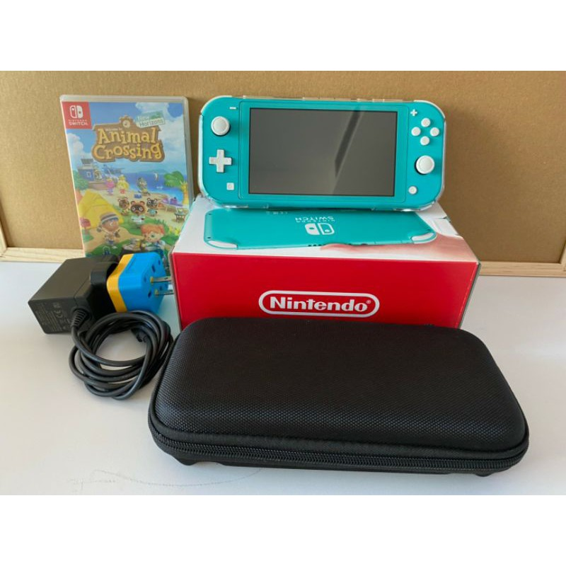[มือสอง] เครื่อง Nintendo Switch LITE สีฟ้า