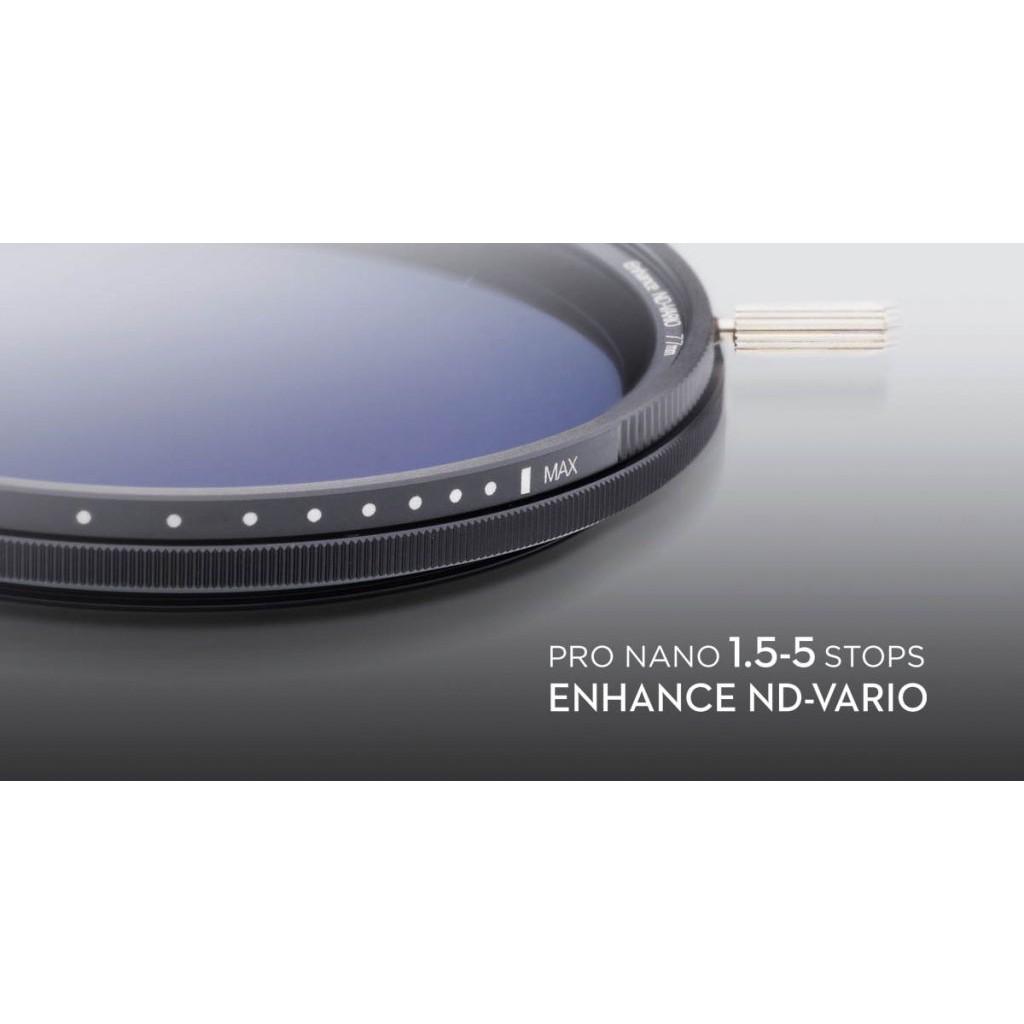 Pro Nano 1.5-5stops Enhanced ND-VARIO 58mm