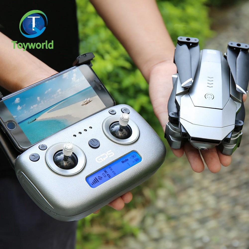 【โดรน ZLRC SG907】เครื่องบิน SG907 WiFi GPS โดรน FPV 4 K และ กระเป๋าเดินทาง VS F11 Pro & SG906