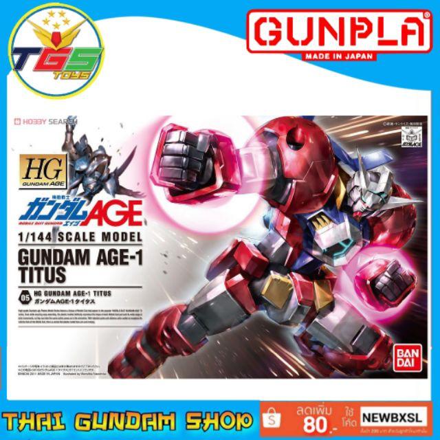 ⭐TGS⭐HG Gundam AGE-1 Titus (AGE)(Gundam Model Kits)