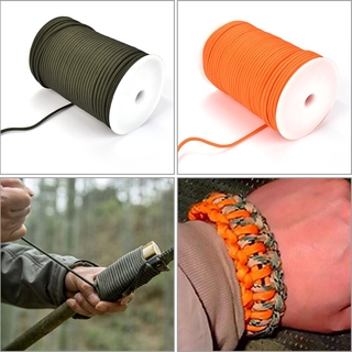 100m Parachute Cord 4mm 9 Strand 550 Rescue Survival Paracord Lanyard Rope