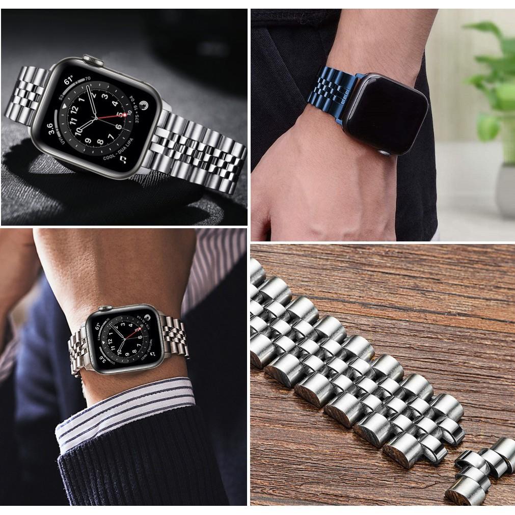 ♟สาย Applewatch Premium สายนาฬิกา applewatch series 6 5 4 3 2,Apple watch SE Stainless Steel apple watch Strap size 38มม