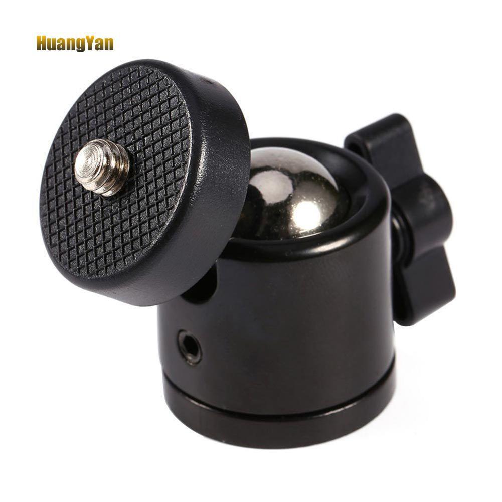 "360°Swivel Mini 1//4/"" Ball Head Bracket Holder Mount for DSLR Camera Tripod Stand"