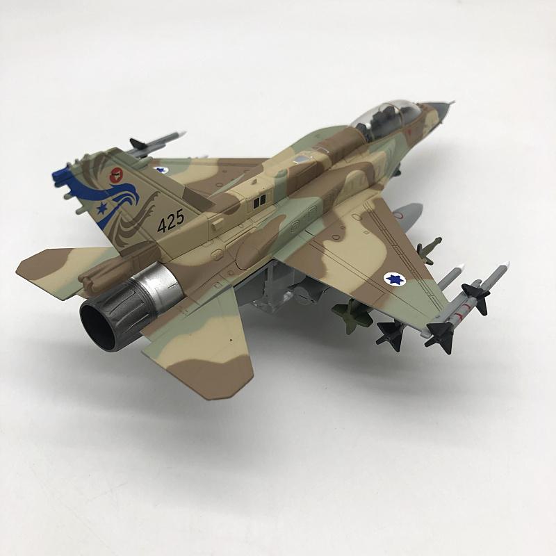 Car model∠1:72อิสราเอลกองทัพอากาศF-16Iพายุอัลลอยจำลองเครื่องบินรบเสร็จNsmodel←รุ่นรถ● QSQy