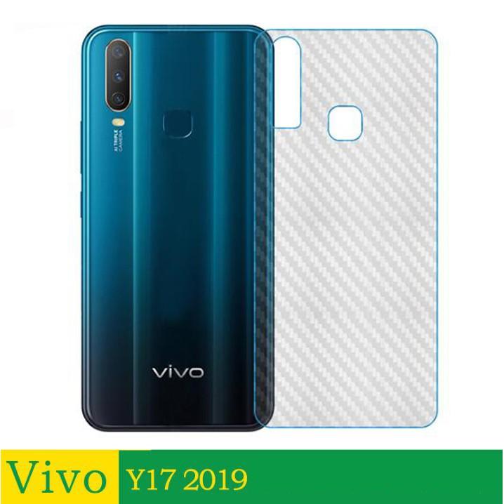 [Buy 1 Take 1] Vivo Y17 Y15 Y12 (2019) Carbon Fiber Back Film