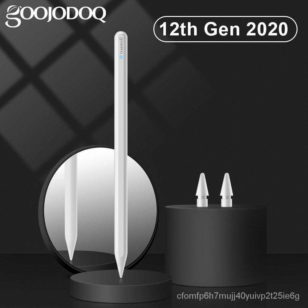 สำหรับดินสอiPadพร้อมกับการปฏิเสธPalmเอียง,เคสGOOJODOQ 12th GenปากกาสำหรับApple Pencil 2 1 iPad Pro 11 2020 2018 2019 Air