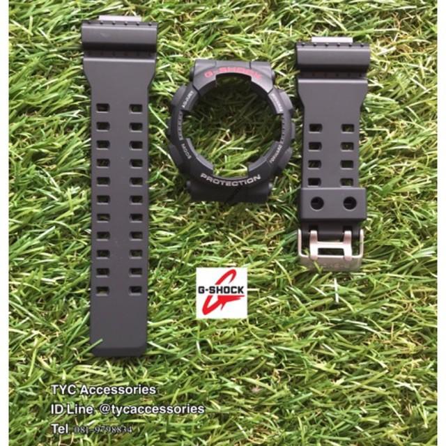 สาย applewatch แท้ สาย applewatch กรอบสาย นาฬิกา Casio G-Shock 💯% ฟร้อนแดงเทา (แถมตะขอ)
