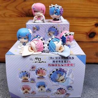 A different world from scratch, 6 models, sleep models, rem, rem, lam, Q version dolls