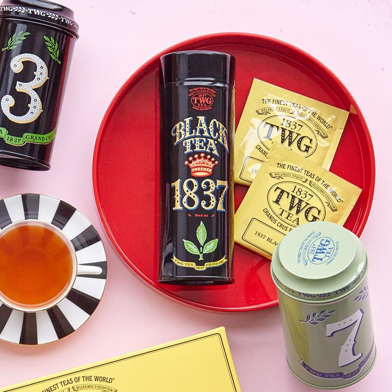 Pengyunjia [Hot Recommended] TWG Tea 1837 Black Tea นำเข้าจากสิงคโปร์พร้อมส่งฟรี SF