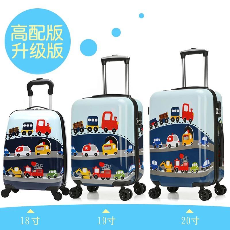 ィ・กระเป๋าเดินทางเด็ก  กระเป๋ารถเข็นเดินทางBumblebee เด็กรถเข็นกระเป๋าเดินทางการ์ตูนเด็กกระเป๋าเดินทางล้อสากลกระเป๋านักเร