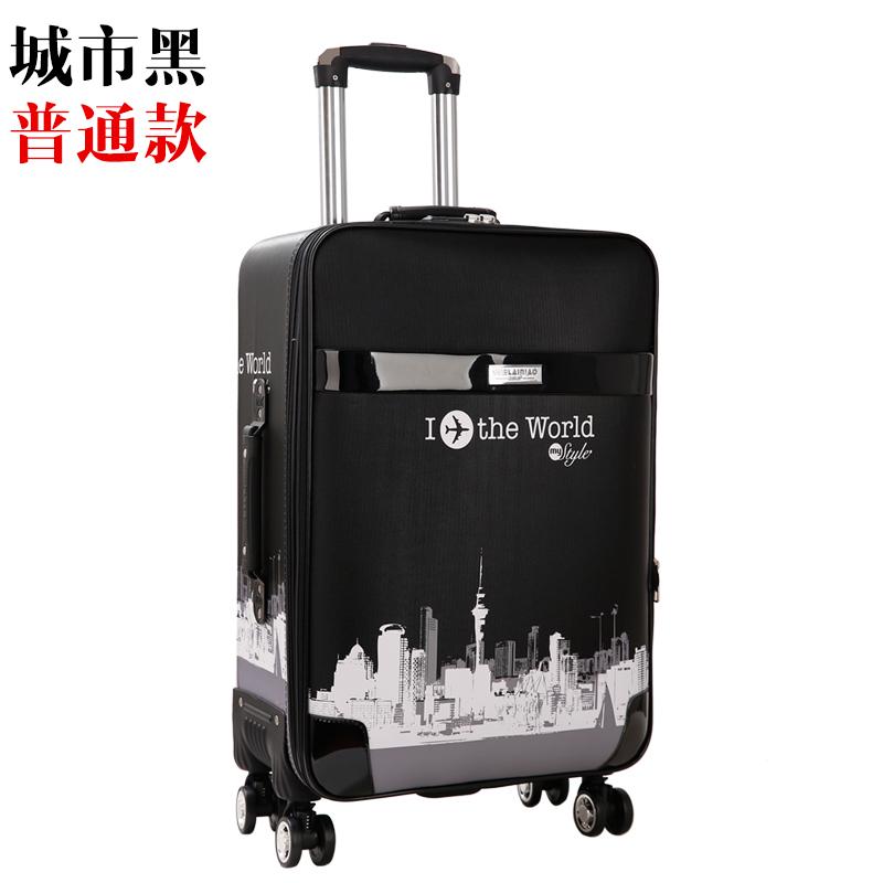 กระเป๋าเดินทางกระเป๋าเดินทางกระเป๋าเดินทางของผู้ชายรถเข็นนักเรียนรหัสผ่านกล่องกระเป๋าเดินทางล้อ24-นิ้ว26-กระเป๋าเดินทางข